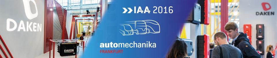 AUTOMECHANIKA FRANKFURT – IAA HANNOVER 2016