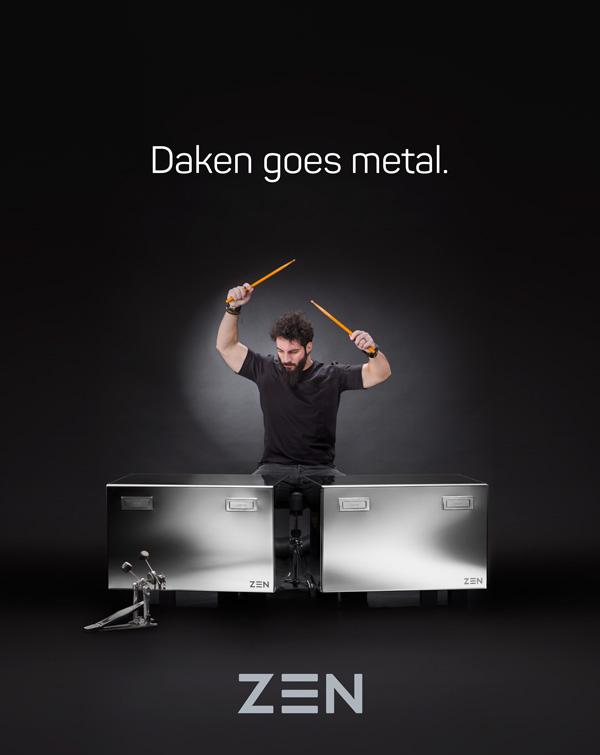 Daken goes metal.